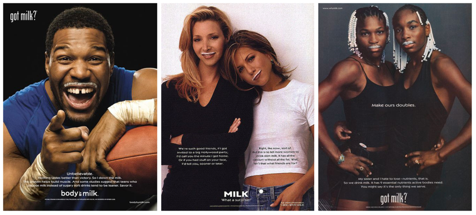 90s got milk? ads